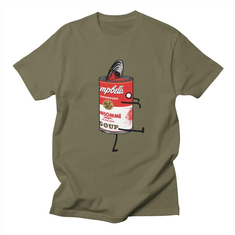 Zombie Tomato Soup Men's T-Shirt by groch's Artist Shop