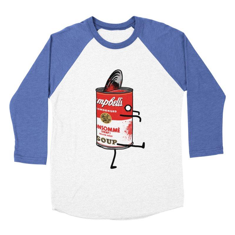 Zombie Tomato Soup Women's Baseball Triblend T-Shirt by groch's Artist Shop
