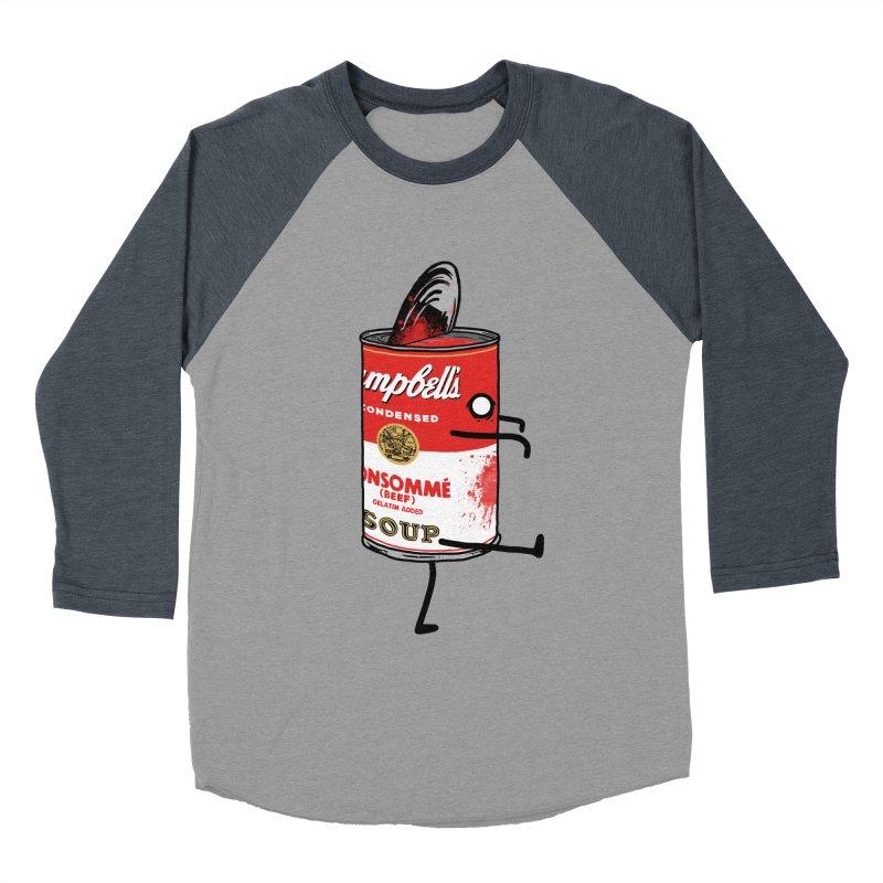 Zombie Tomato Soup Men's Baseball Triblend T-Shirt by groch's Artist Shop