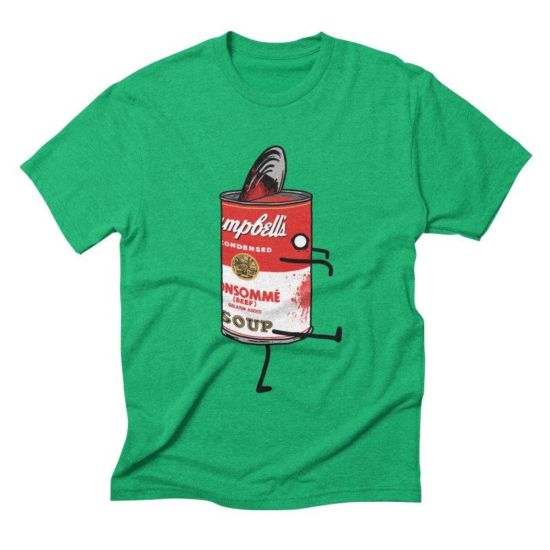 Zombie Tomato Soup Men's Triblend T-shirt by groch's Artist Shop