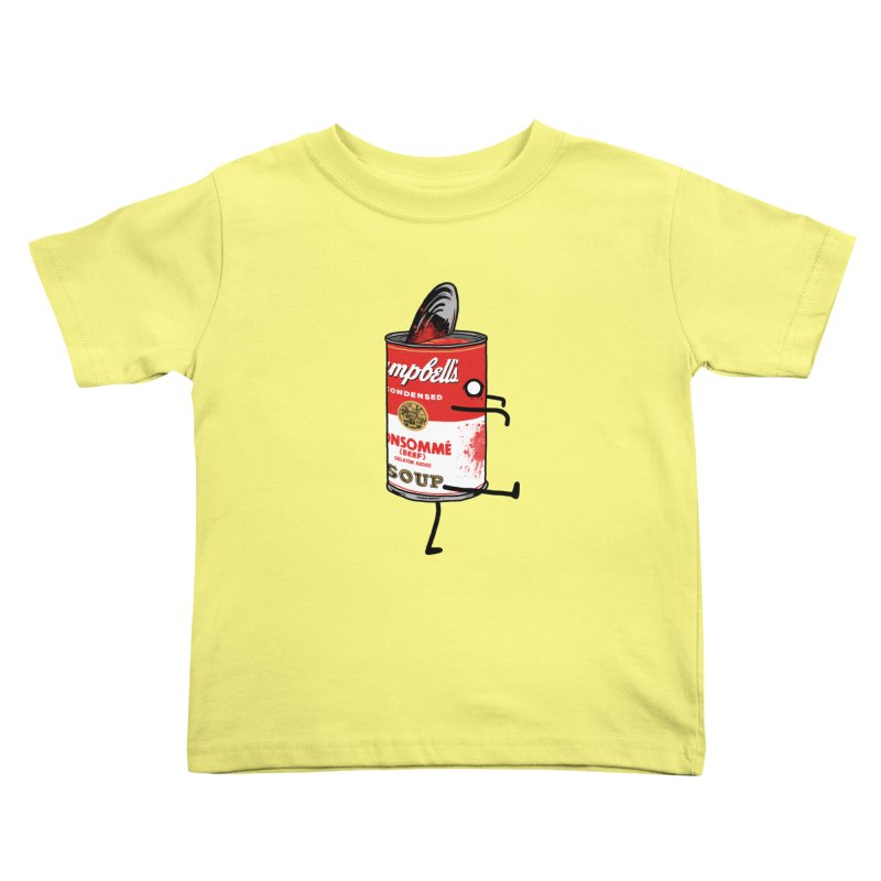 Zombie Tomato Soup Kids Toddler T-Shirt by groch's Artist Shop