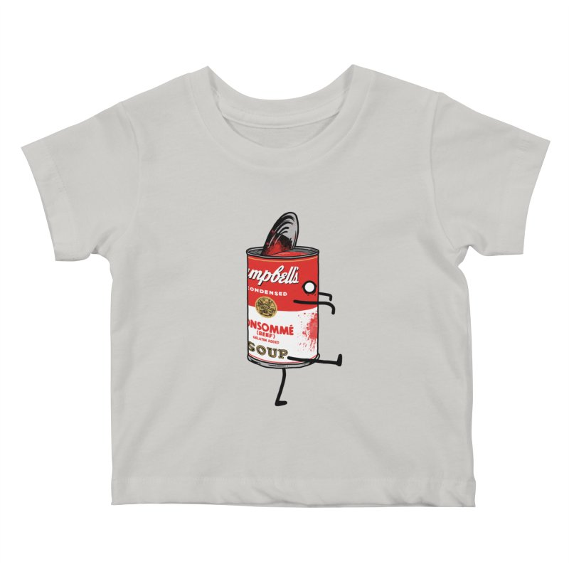 Zombie Tomato Soup Kids Baby T-Shirt by groch's Artist Shop