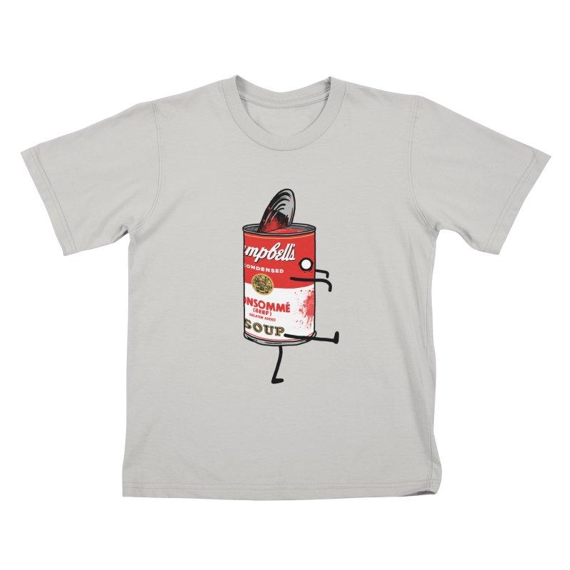 Zombie Tomato Soup Kids T-Shirt by groch's Artist Shop