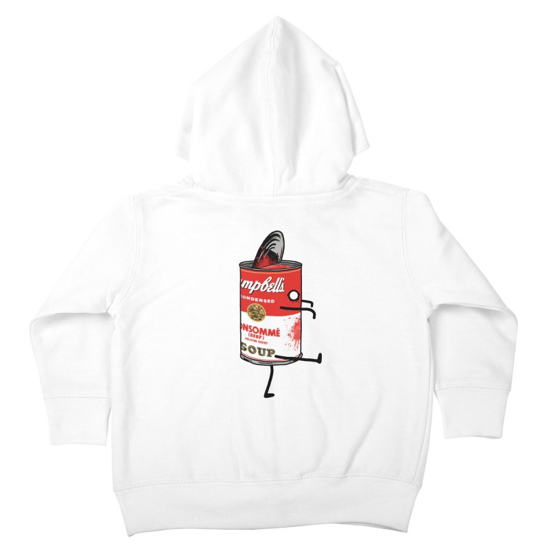 Zombie Tomato Soup Kids Toddler Zip-Up Hoody by groch's Artist Shop