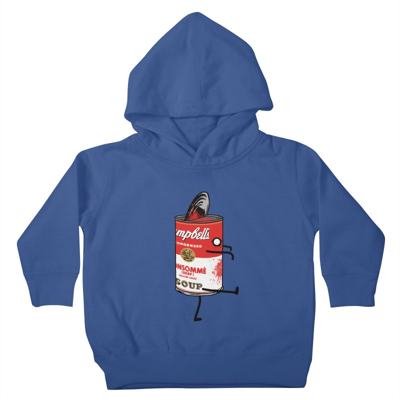 Zombie Tomato Soup Kids Toddler Pullover Hoody by groch's Artist Shop