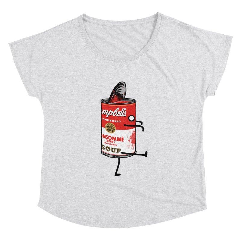 Zombie Tomato Soup Women's Dolman by groch's Artist Shop