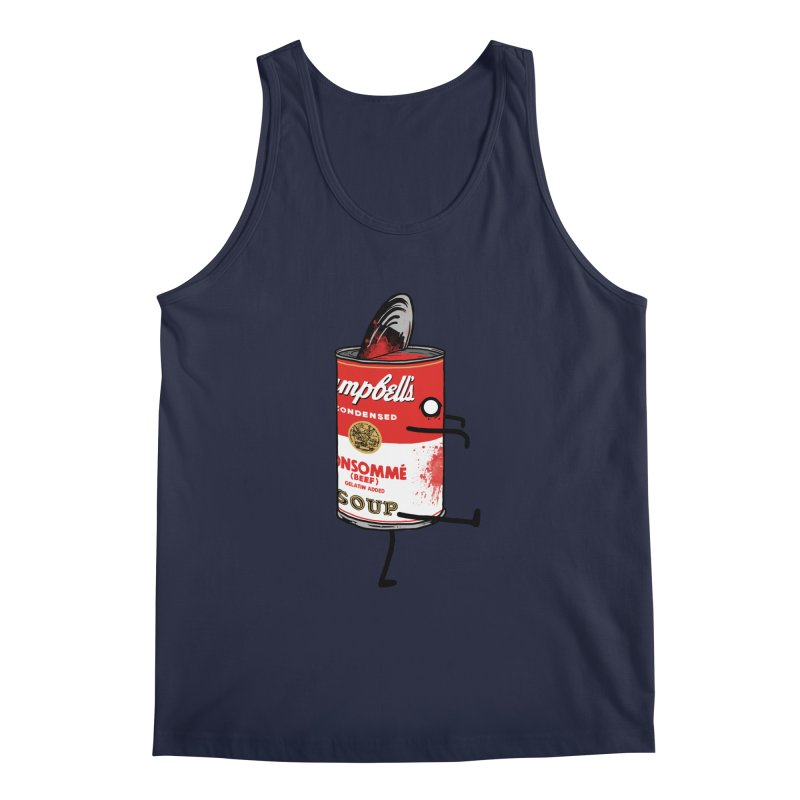Zombie Tomato Soup Men's Tank by groch's Artist Shop