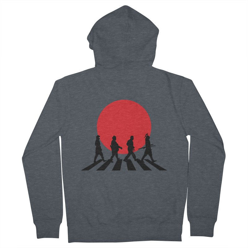 Conquer The World Men's Zip-Up Hoody by groch's Artist Shop