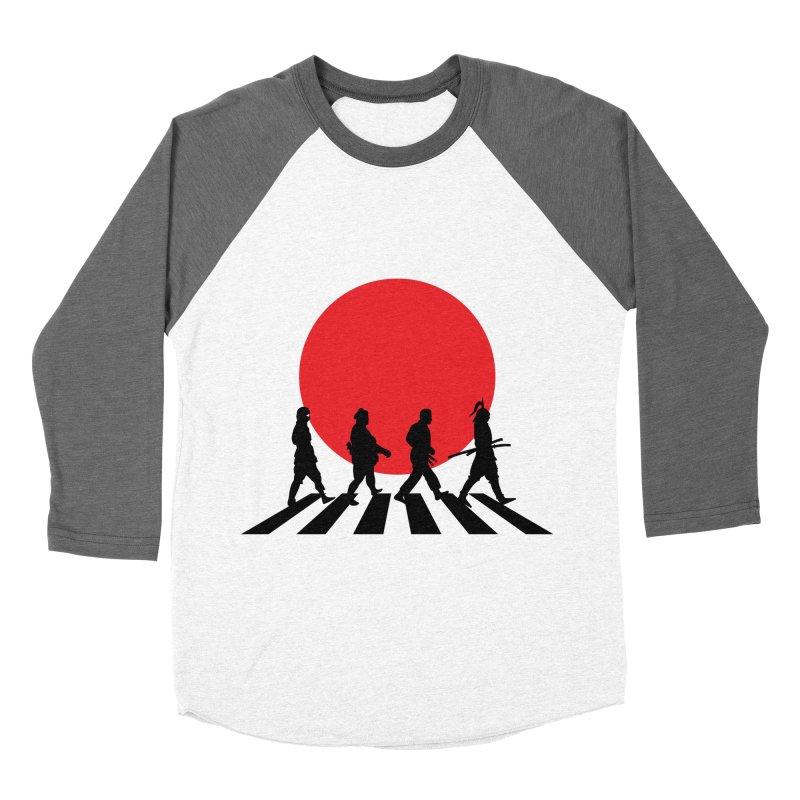 Conquer The World Women's Baseball Triblend T-Shirt by groch's Artist Shop
