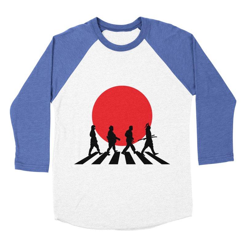 Conquer The World Men's Baseball Triblend T-Shirt by groch's Artist Shop