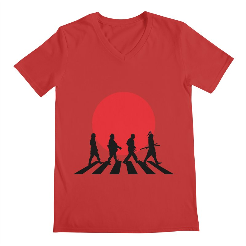 Conquer The World Men's V-Neck by groch's Artist Shop