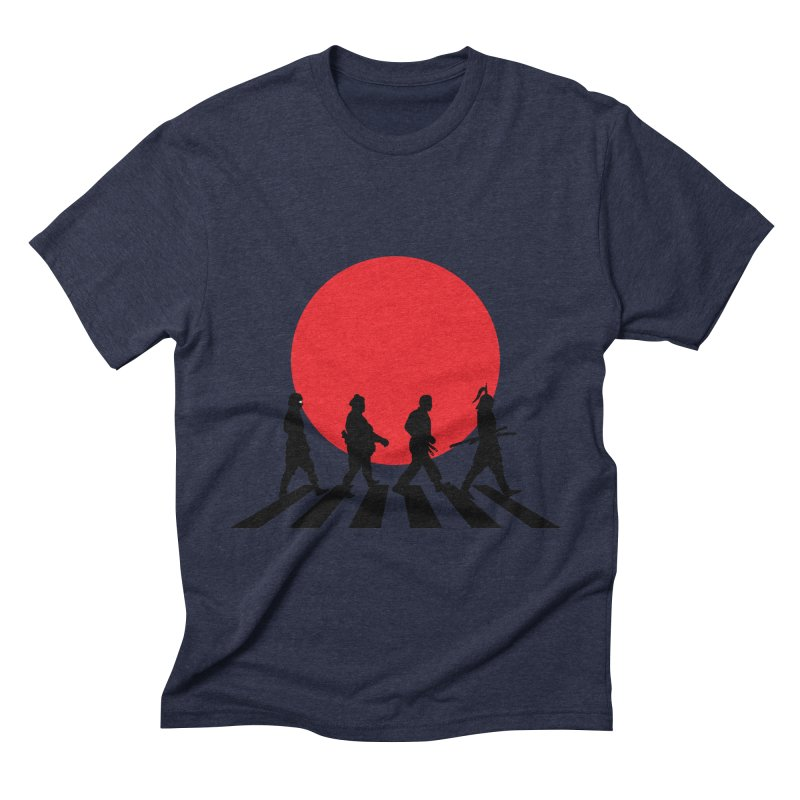 Conquer The World Men's Triblend T-shirt by groch's Artist Shop