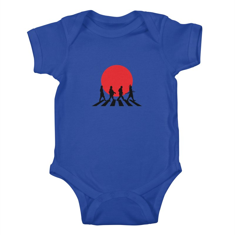 Conquer The World Kids Baby Bodysuit by groch's Artist Shop