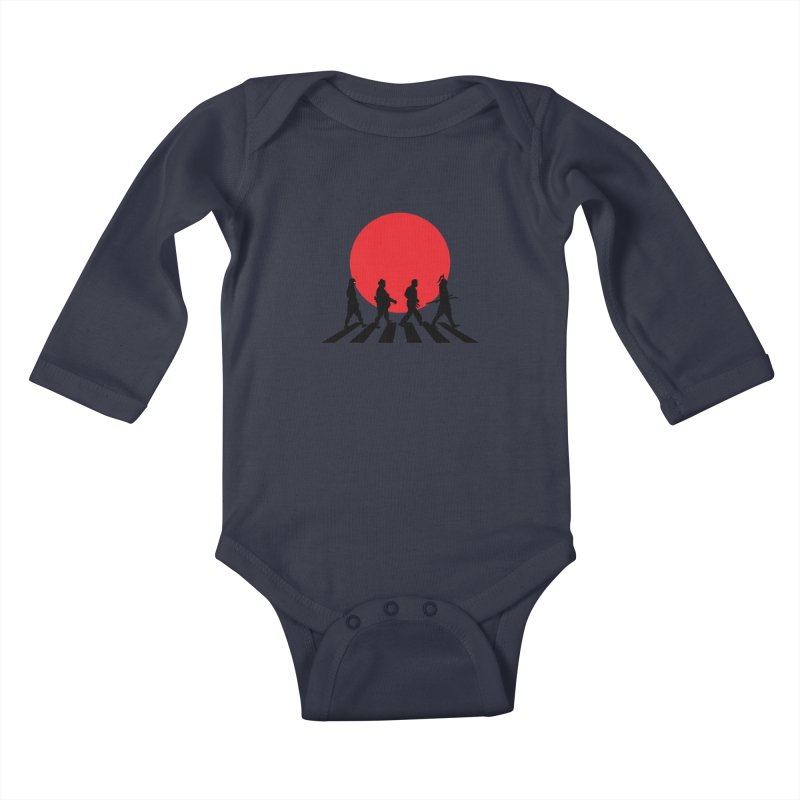 Conquer The World Kids Baby Longsleeve Bodysuit by groch's Artist Shop