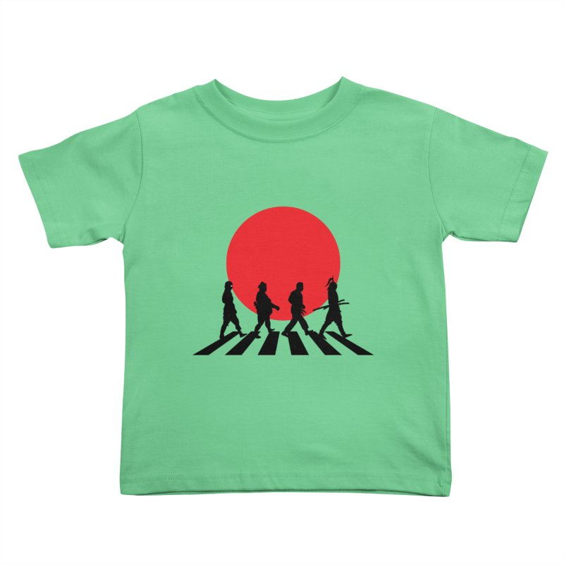 Conquer The World Kids Toddler T-Shirt by groch's Artist Shop