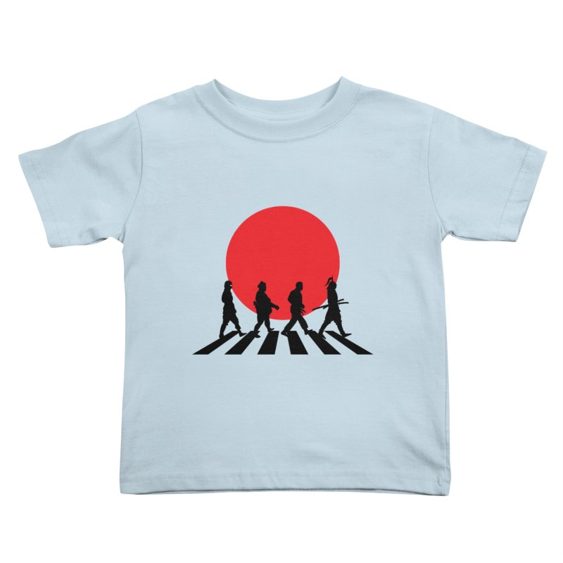 Conquer The World Kids Toddler T-Shirt by groch's Artist Shop