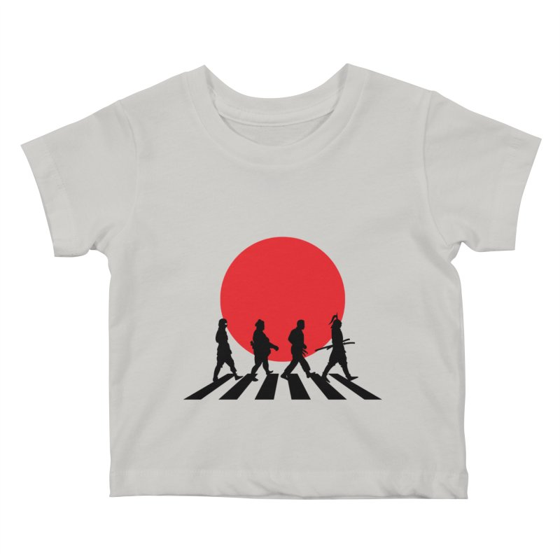 Conquer The World Kids Baby T-Shirt by groch's Artist Shop