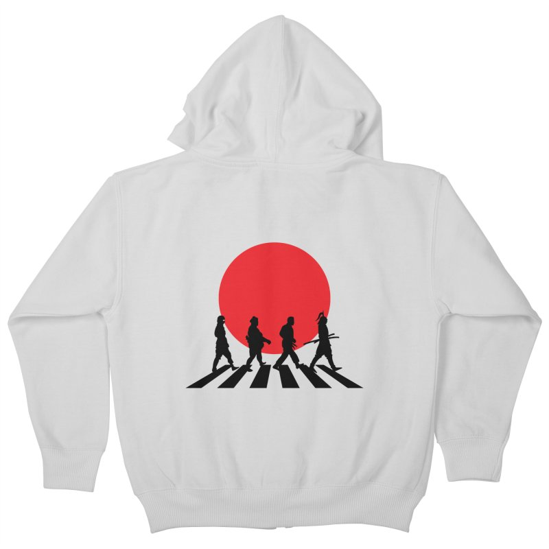 Conquer The World Kids Zip-Up Hoody by groch's Artist Shop