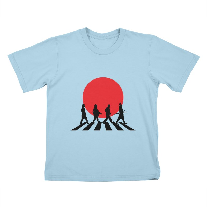 Conquer The World Kids T-Shirt by groch's Artist Shop