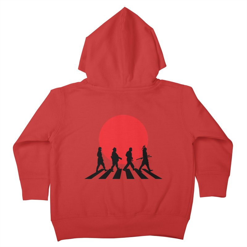Conquer The World Kids Toddler Zip-Up Hoody by groch's Artist Shop