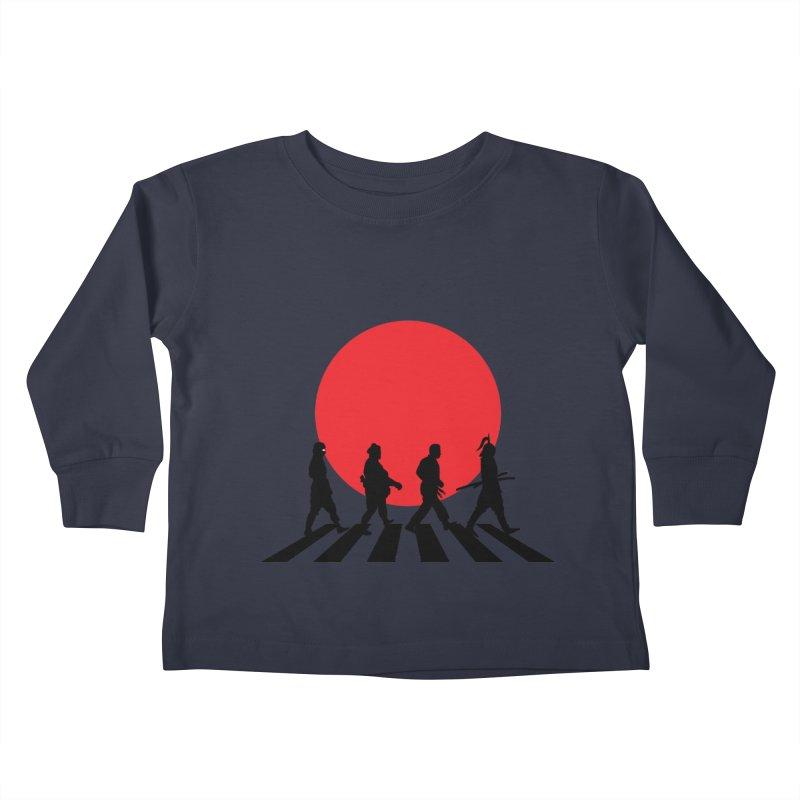 Conquer The World Kids Toddler Longsleeve T-Shirt by groch's Artist Shop