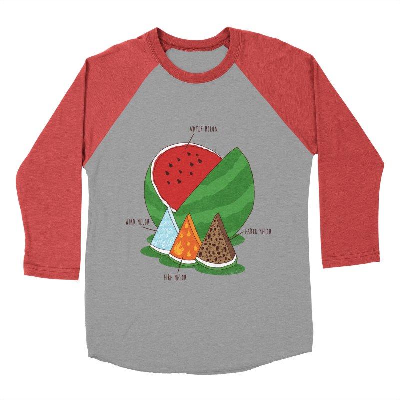 Elemelons Women's Baseball Triblend T-Shirt by groch's Artist Shop