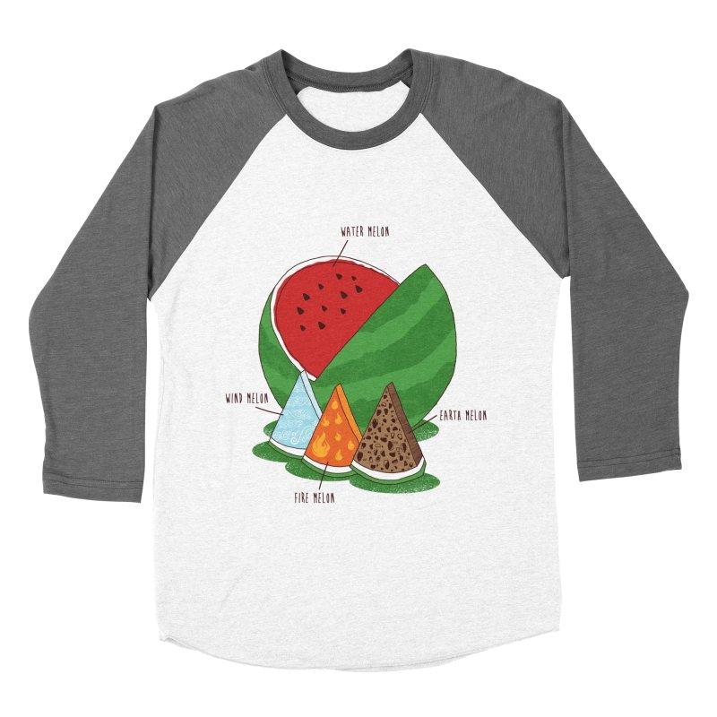 Elemelons Men's Baseball Triblend T-Shirt by groch's Artist Shop