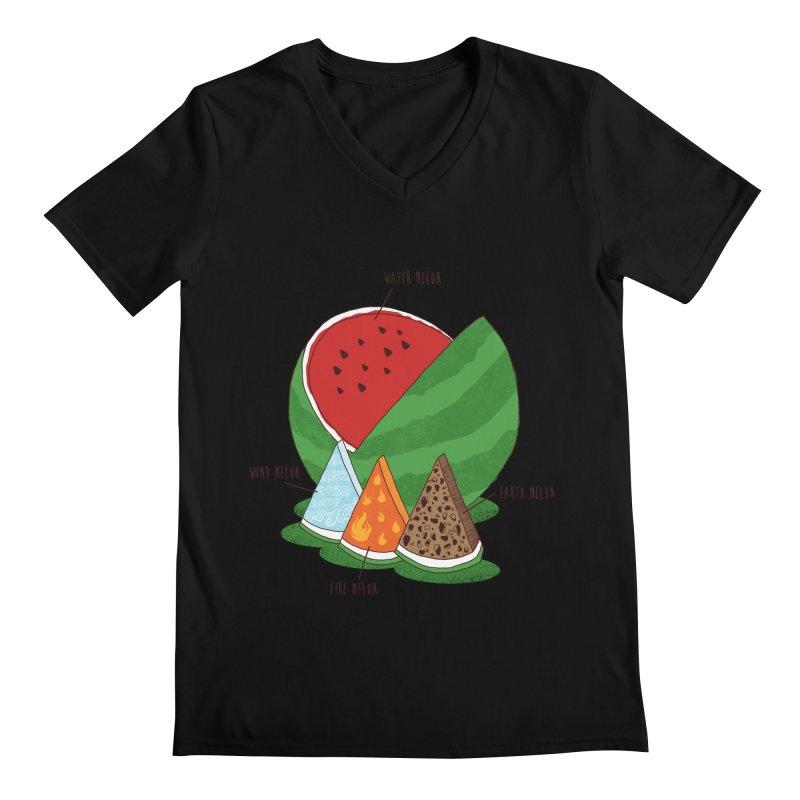 Elemelons Men's V-Neck by groch's Artist Shop