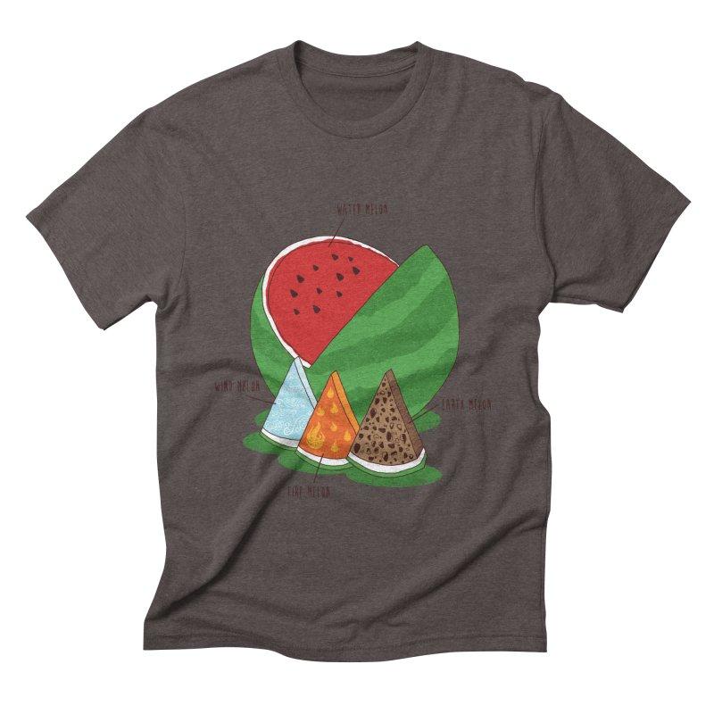 Elemelons Men's Triblend T-shirt by groch's Artist Shop