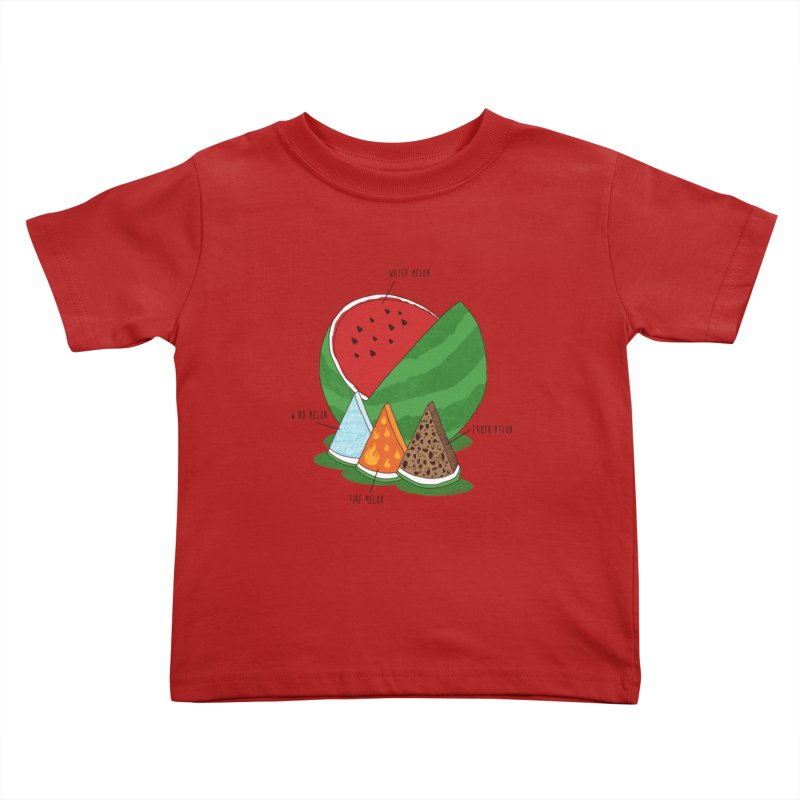 Elemelons Kids Toddler T-Shirt by groch's Artist Shop