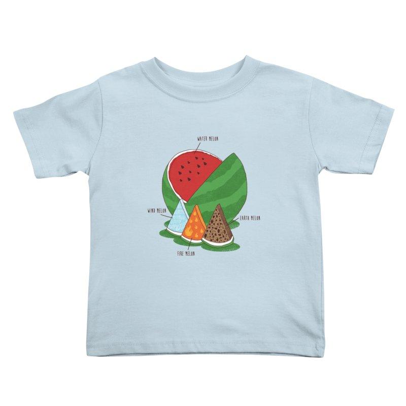 Elemelons Kids Toddler T-Shirt by groch's Artist Shop