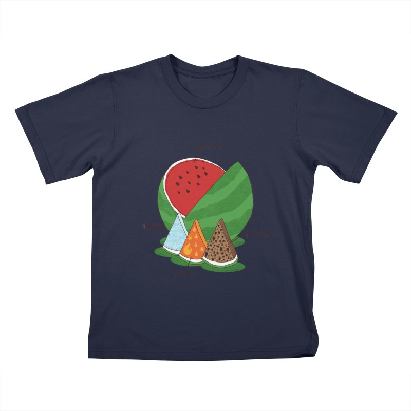 Elemelons Kids T-Shirt by groch's Artist Shop