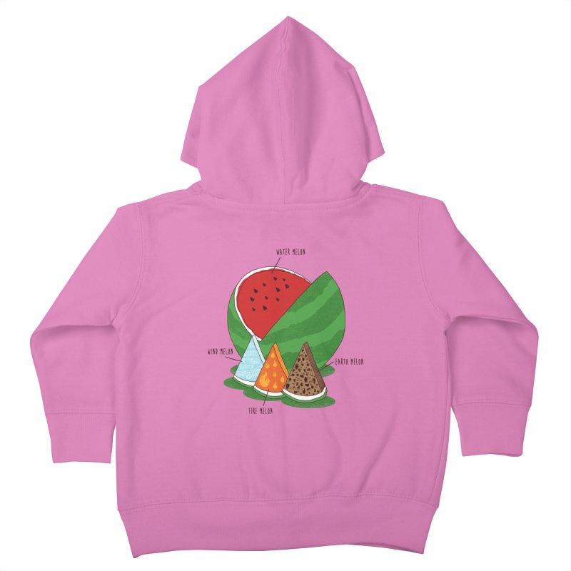 Elemelons Kids Toddler Zip-Up Hoody by groch's Artist Shop