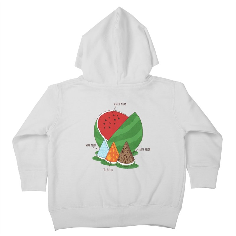 Elemelons Kids Toddler Zip-Up Hoody by groch's Artist Shop