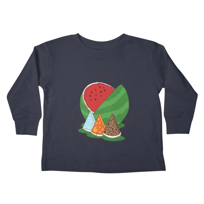 Elemelons Kids Toddler Longsleeve T-Shirt by groch's Artist Shop