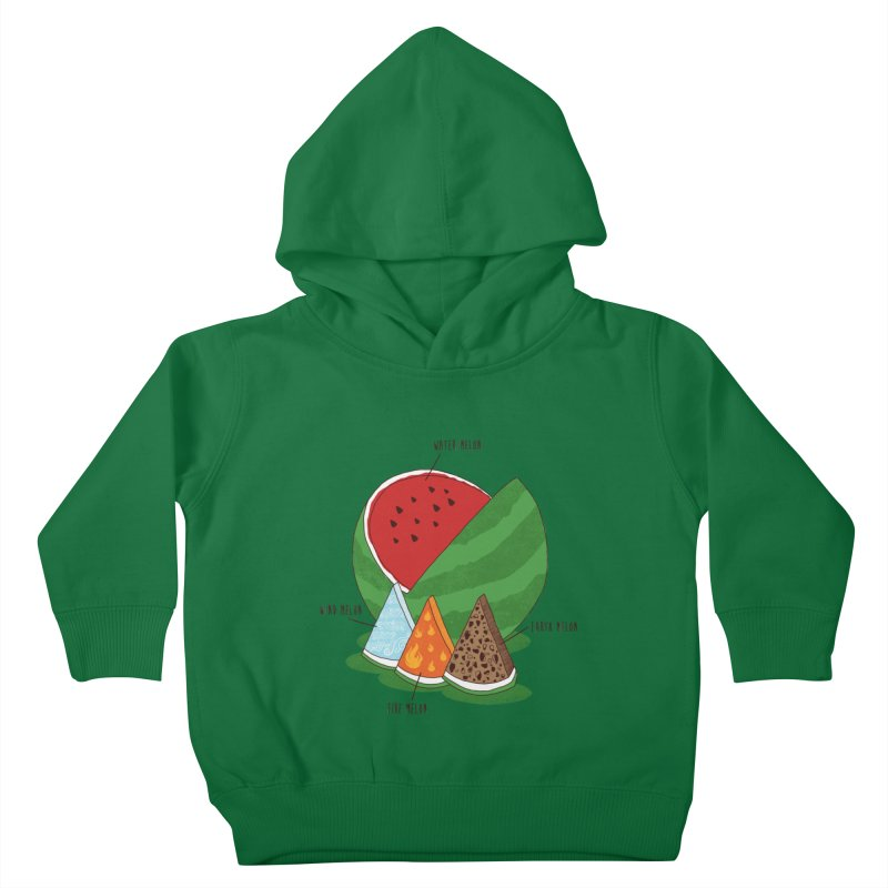 Elemelons Kids Toddler Pullover Hoody by groch's Artist Shop