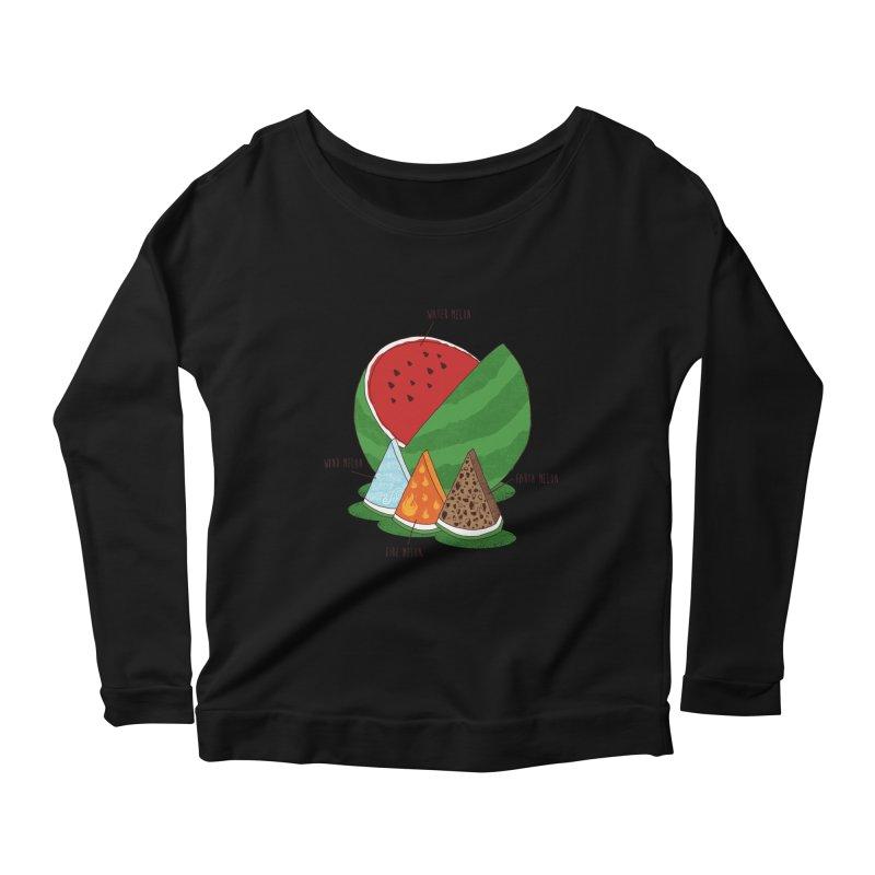 Elemelons Women's Longsleeve Scoopneck  by groch's Artist Shop