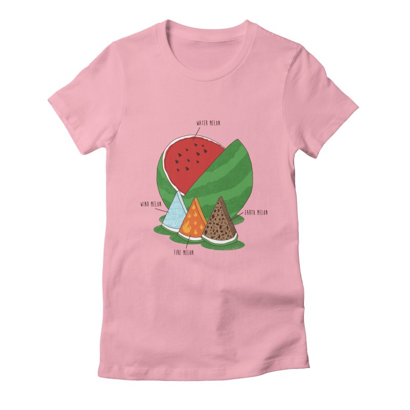 Elemelons Women's Fitted T-Shirt by groch's Artist Shop