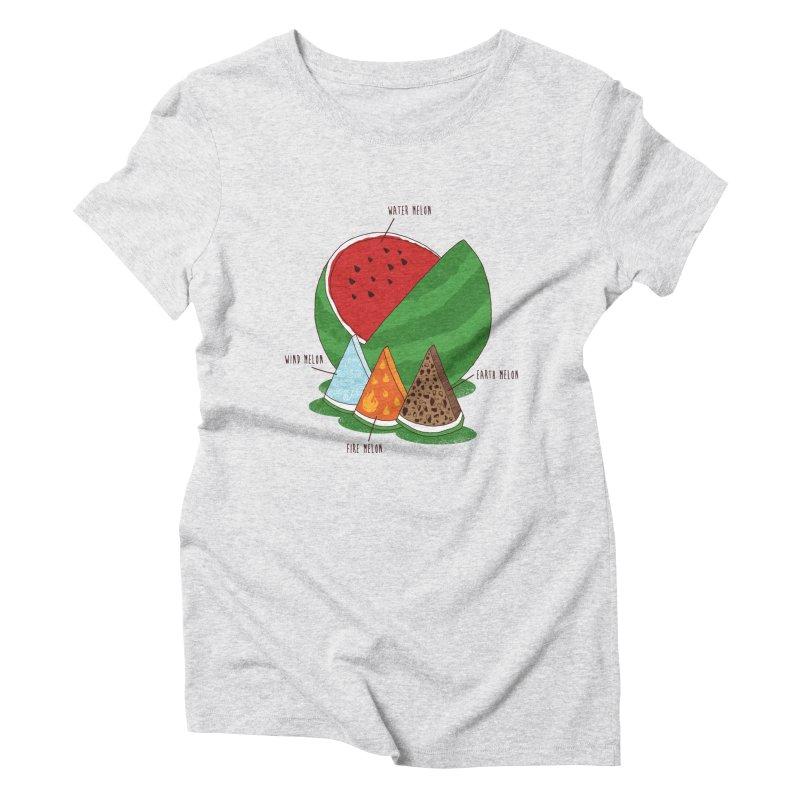 Elemelons Women's Triblend T-Shirt by groch's Artist Shop
