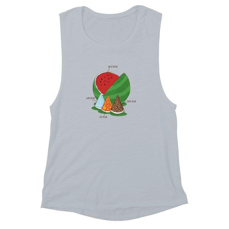 Elemelons Women's Muscle Tank by groch's Artist Shop