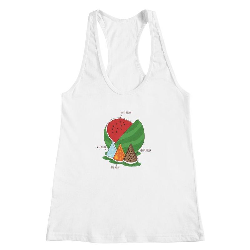 Elemelons Women's Racerback Tank by groch's Artist Shop