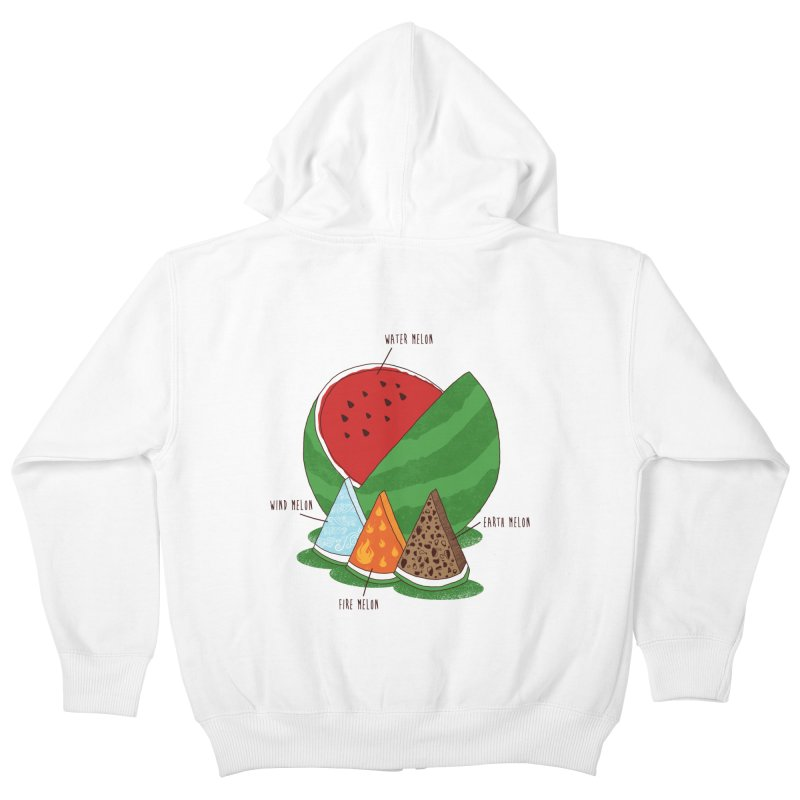 Elemelons Kids Zip-Up Hoody by groch's Artist Shop