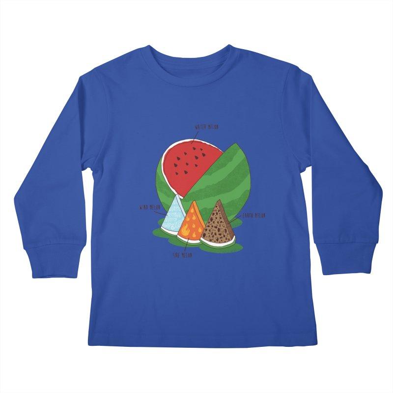 Elemelons Kids Longsleeve T-Shirt by groch's Artist Shop