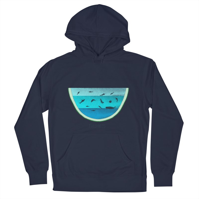 Water Melon Men's Pullover Hoody by groch's Artist Shop