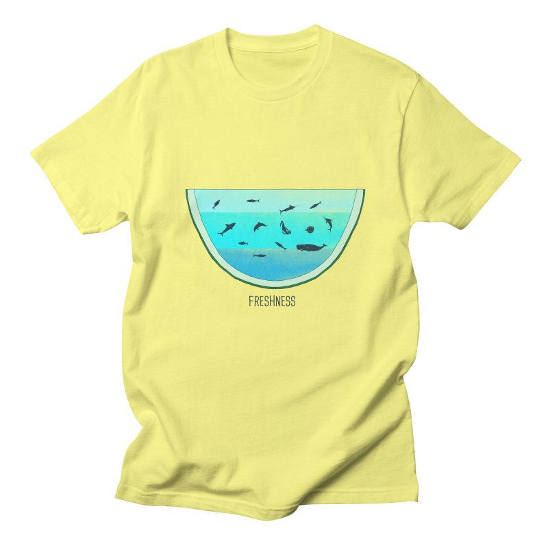 Water Melon Men's T-Shirt by groch's Artist Shop