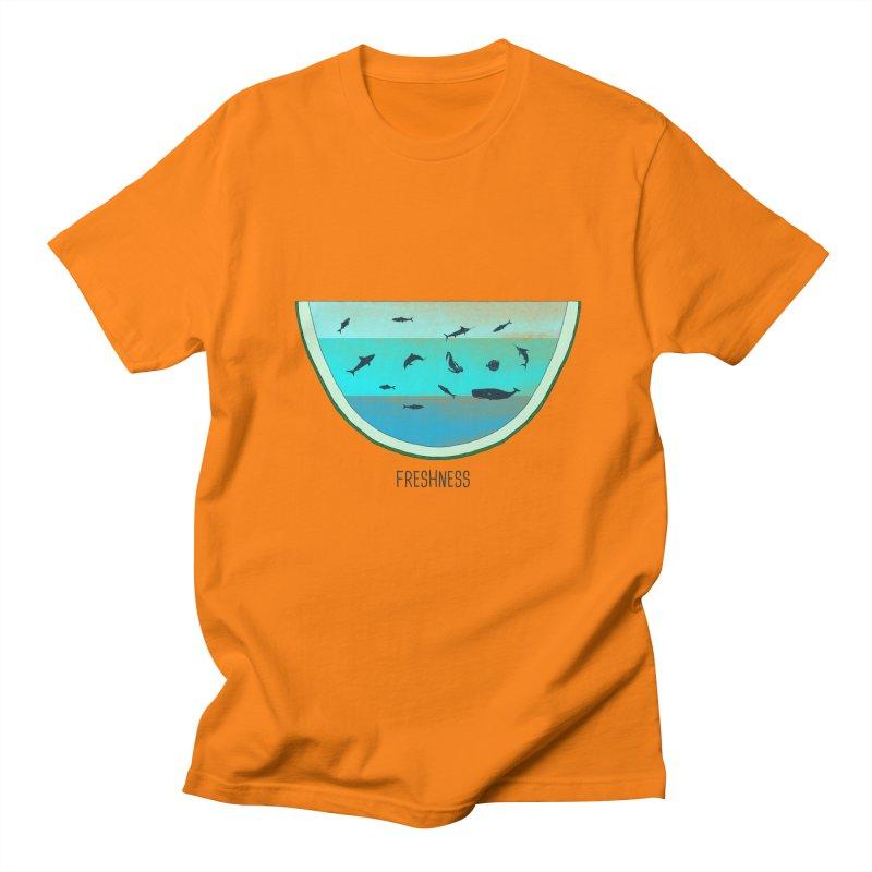 Water Melon Men's T-shirt by groch's Artist Shop