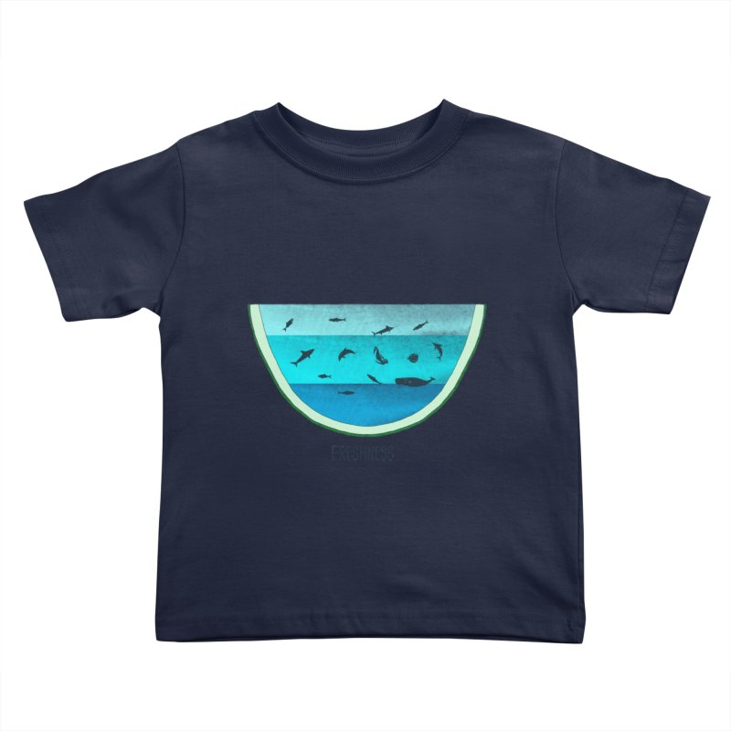 Water Melon Kids Toddler T-Shirt by groch's Artist Shop