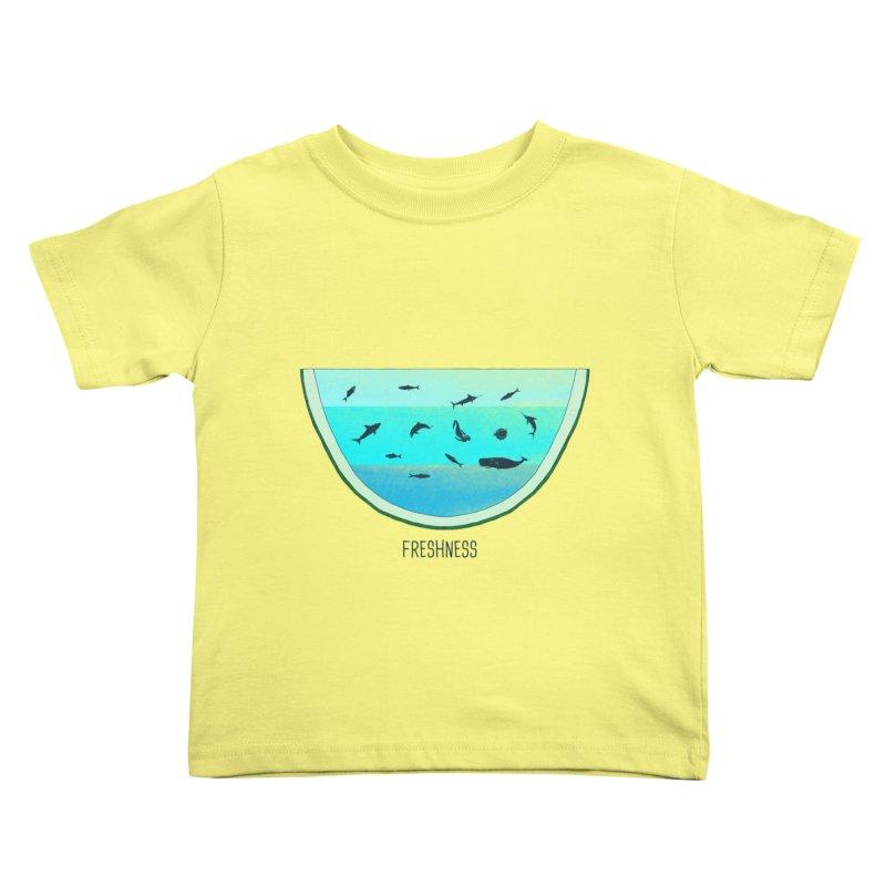 Water Melon Kids Toddler T-Shirt by groch's Artist Shop