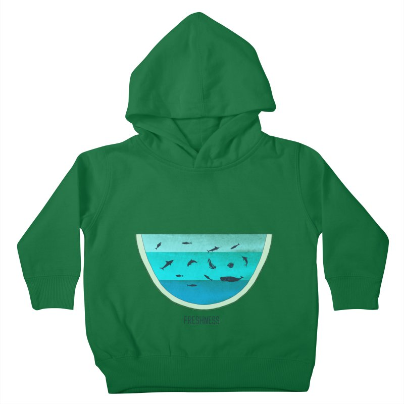 Water Melon Kids Toddler Pullover Hoody by groch's Artist Shop