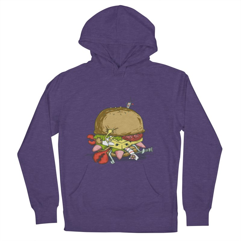 Chump Burger Women's Pullover Hoody by groch's Artist Shop
